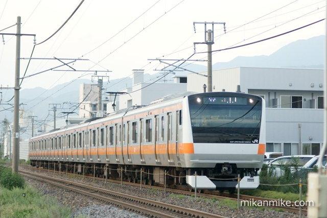 E233系H55編成 6両