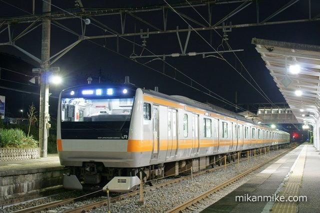E233系青663編成
