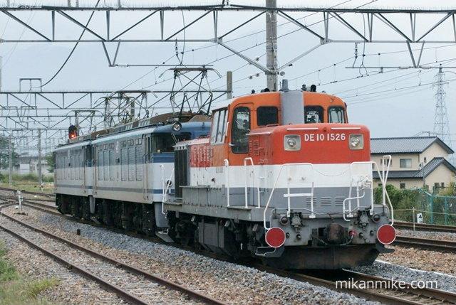 EF64-61、EF64-63、DE10 1526