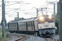 セピア色の中央線 EF64-39+旧型客車 回送