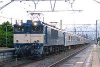 209系ウラ69編成+EF64-1031