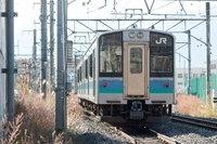 E127系A4編成 回送(後追い)