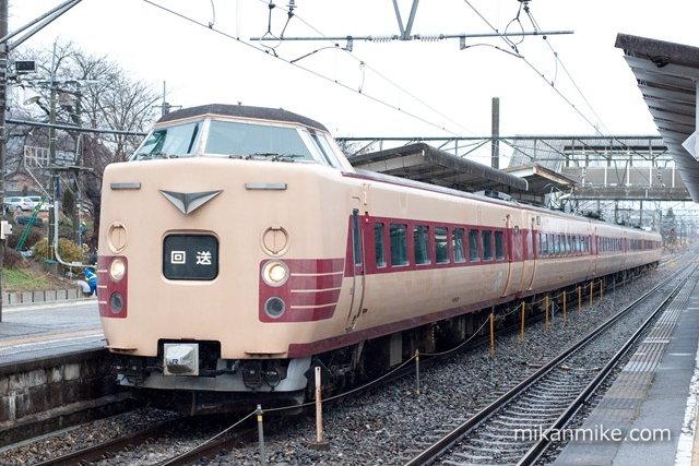 381系日根野車 C604編成