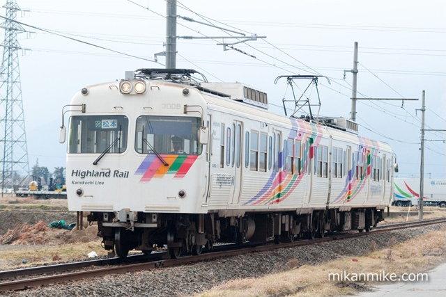 松本電鉄 3000系(3008-3007)