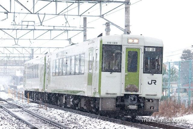 キハ110系(110-120+110-116)NN入場