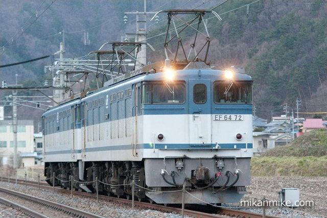 8560レ EF64-72+EF64-63