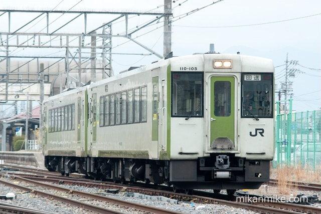 キハ110系(10-105,110-112)