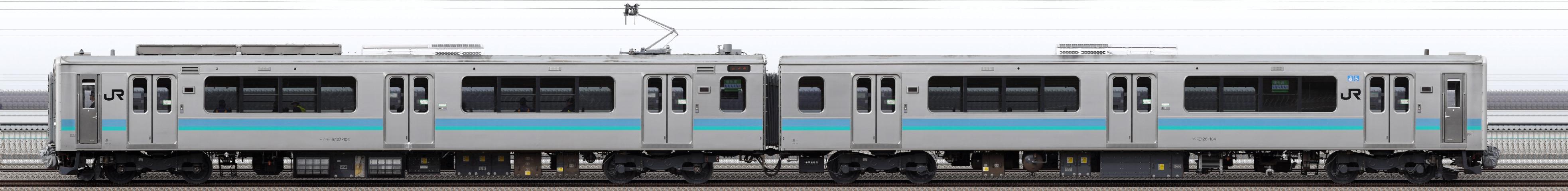 2017-02-11-試9954M E127系A4編成 NN出場試運転